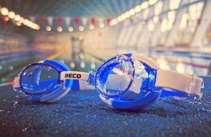 Bild von Schwimmbrille Kind blau