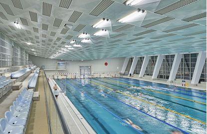 Bild von Hallenbad Schwimmsportkomplex