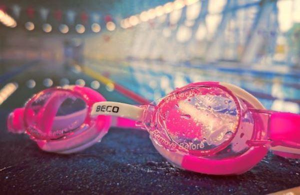 Bild von Schwimmbrille Kind pink